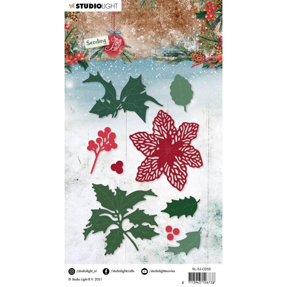 Die Sending Joy NR. 50, Holly/Berries