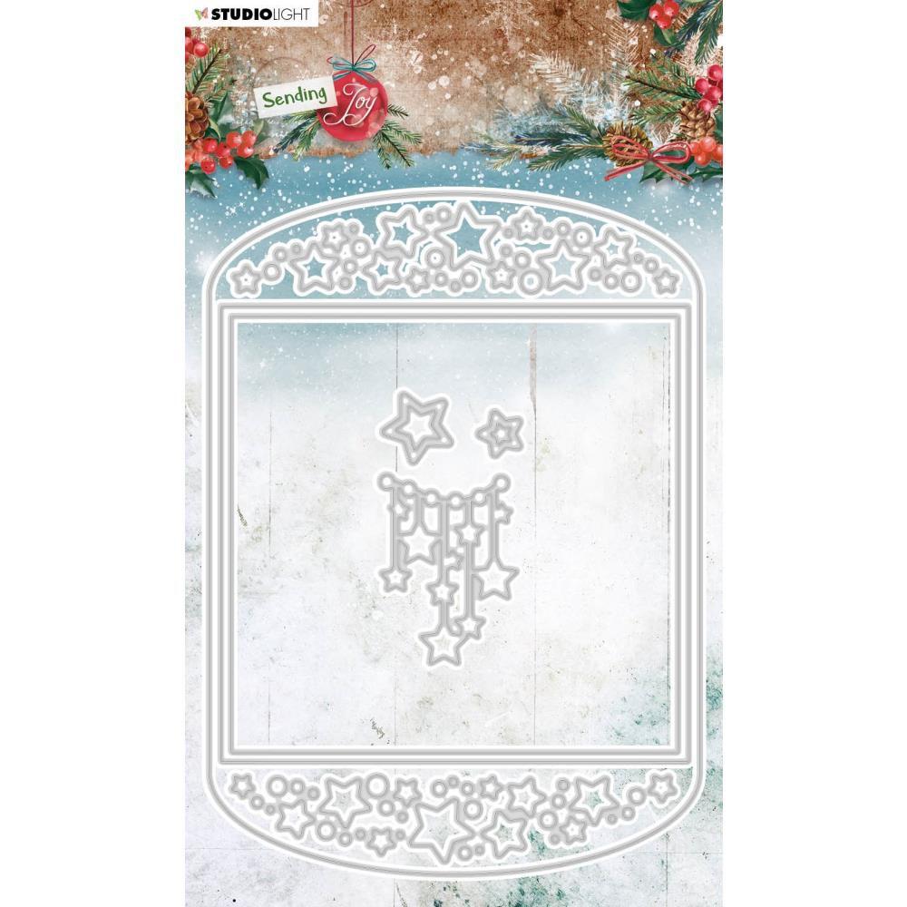 Die Sending Joy NR. 54 Card Shape