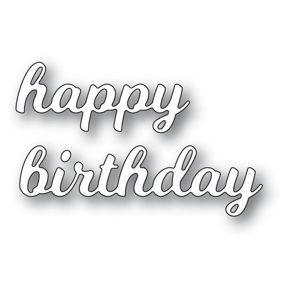 Die Splendid Happy Birthday