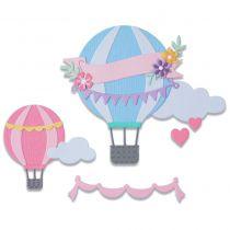 DIE THINLITS Hot Air Balloon