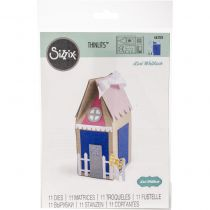 DIE THINLITS HOUSE FAVOR BOX