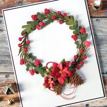 DIES - Create A Wreath - couronne de noel