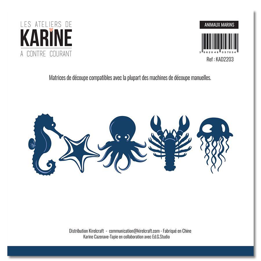 Dies A contre courant Animaux marins -Les Ateliers de Karine
