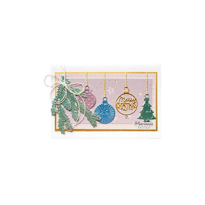 DIES CREATABLES - Babioles Joyeux Noël