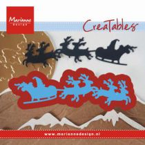 DIES CREATABLES - Santa is Coming
