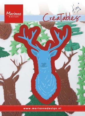 DIES CREATABLES - Tiny\'s Deer head