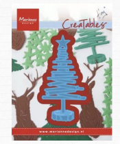 DIES CREATABLES - Tiny\'s wooden Christmas tree