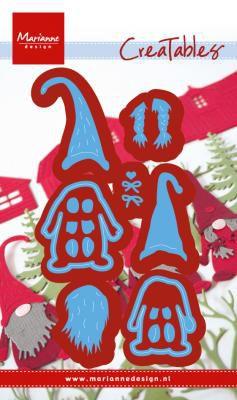 DIES CREATABLES - Tomte gnome