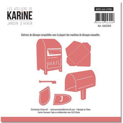 Dies Jardin d\'Hiver Boites aux lettres -Les Ateliers de Karine