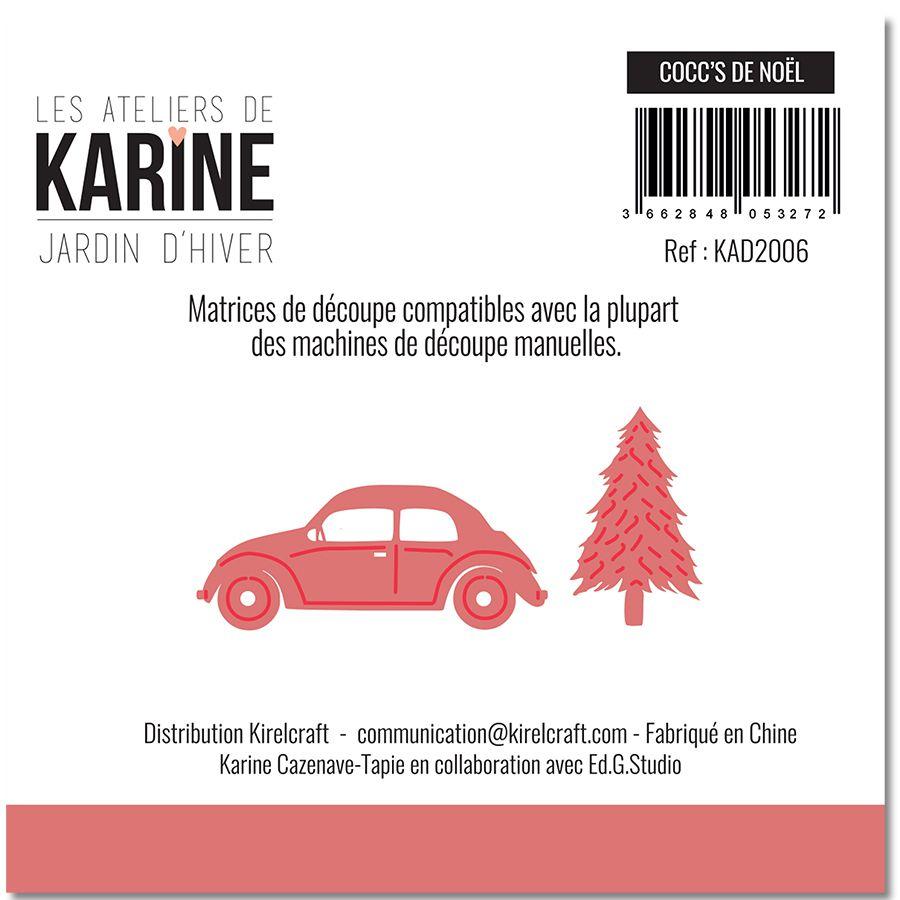 Dies Jardin d\'Hiver Cocc\'s de NOEL -Les Ateliers de Karine