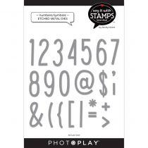 DIES PHOTO PLAY - Numbers / Symbols