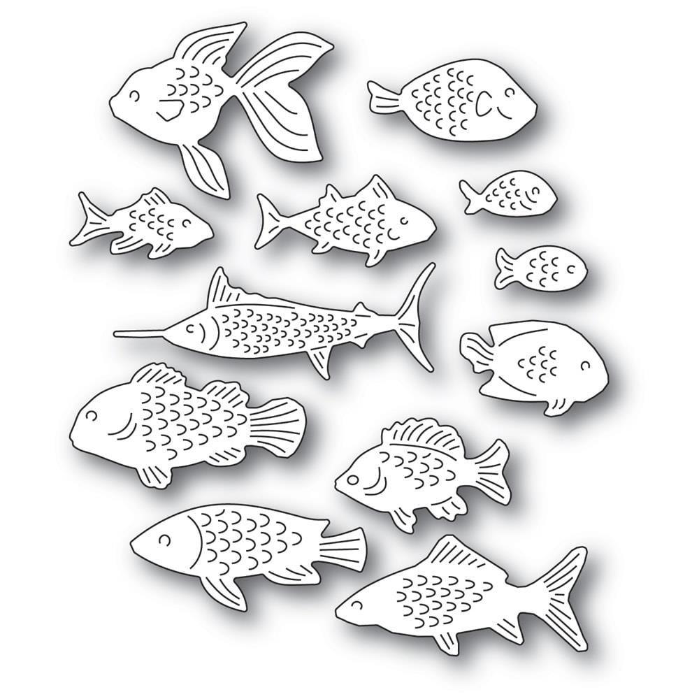 Dies School of Fish