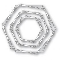 Dies Stylish Hexagon Trio