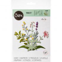 DIES THINLITS FLEURS - Spring Stems