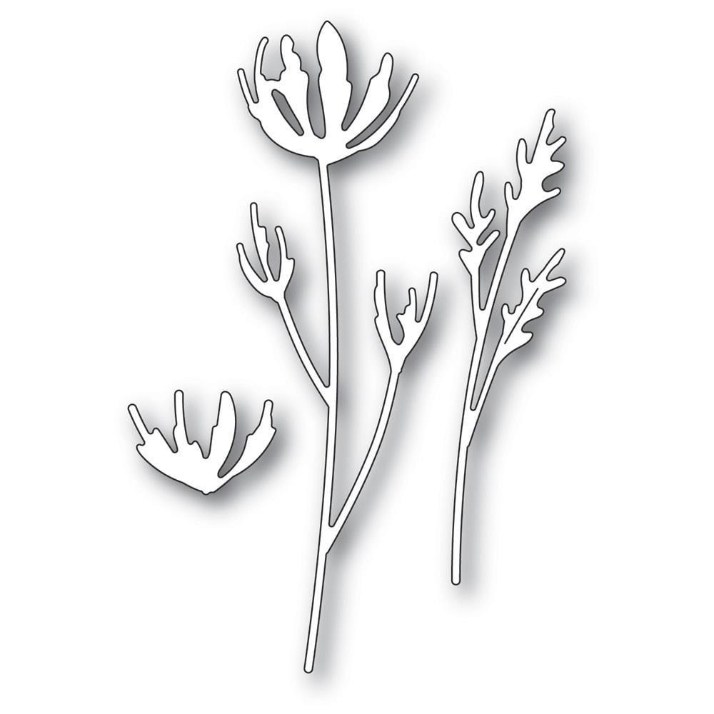 Dies Wildflower Stems
