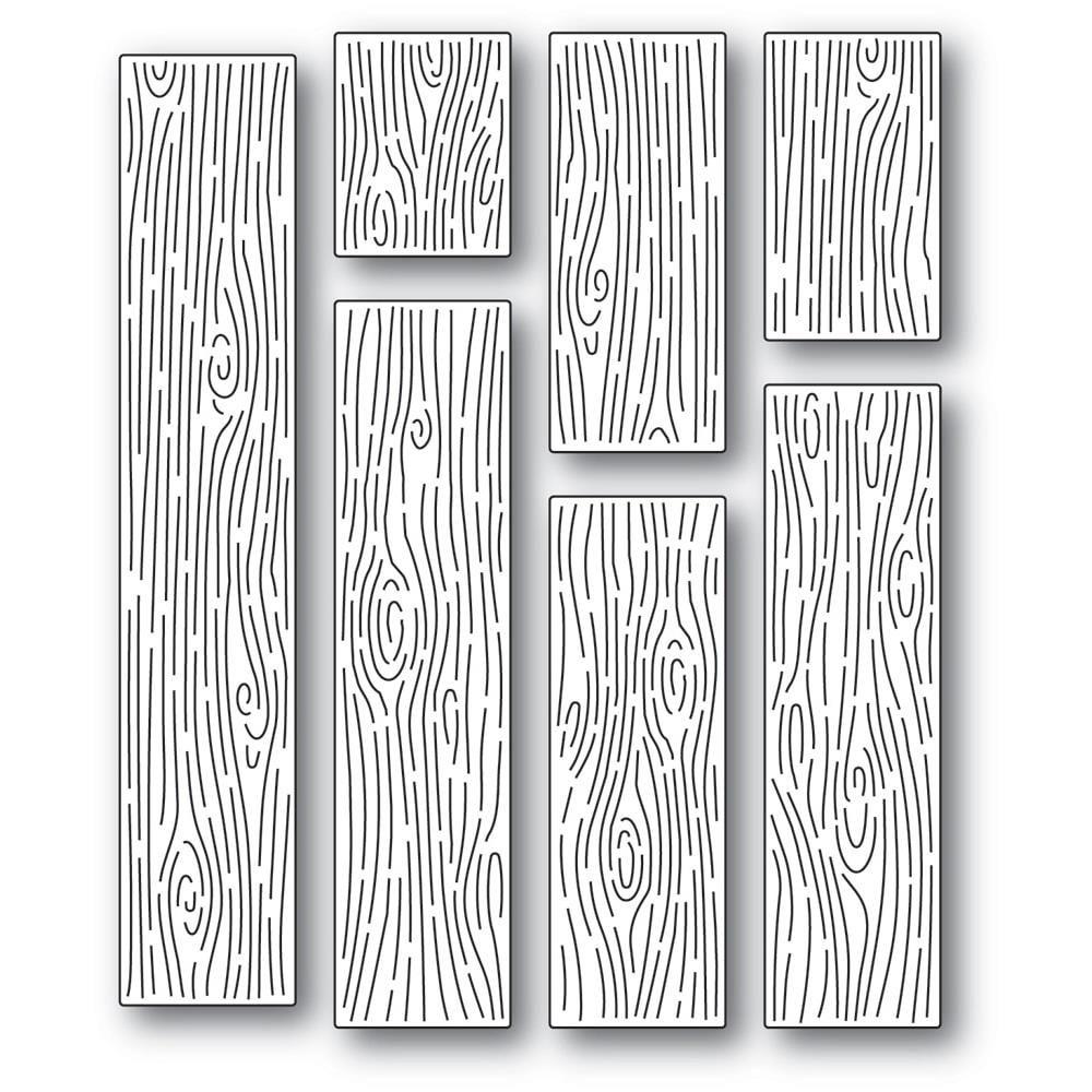 Dies Wood Grain Planks