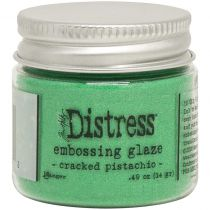 DISTRESS EMBOSSING GLAZE - Cracked Pistachio
