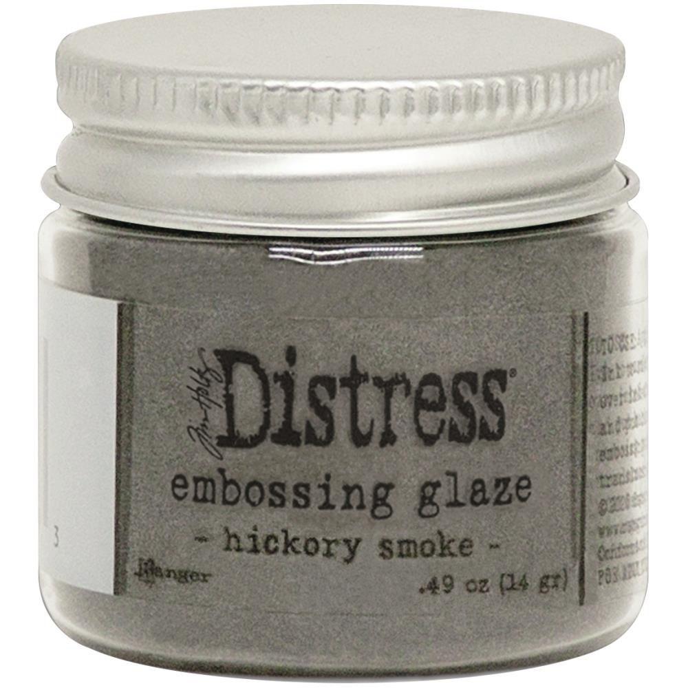 DISTRESS EMBOSSING GLAZE - Hickory Smoke