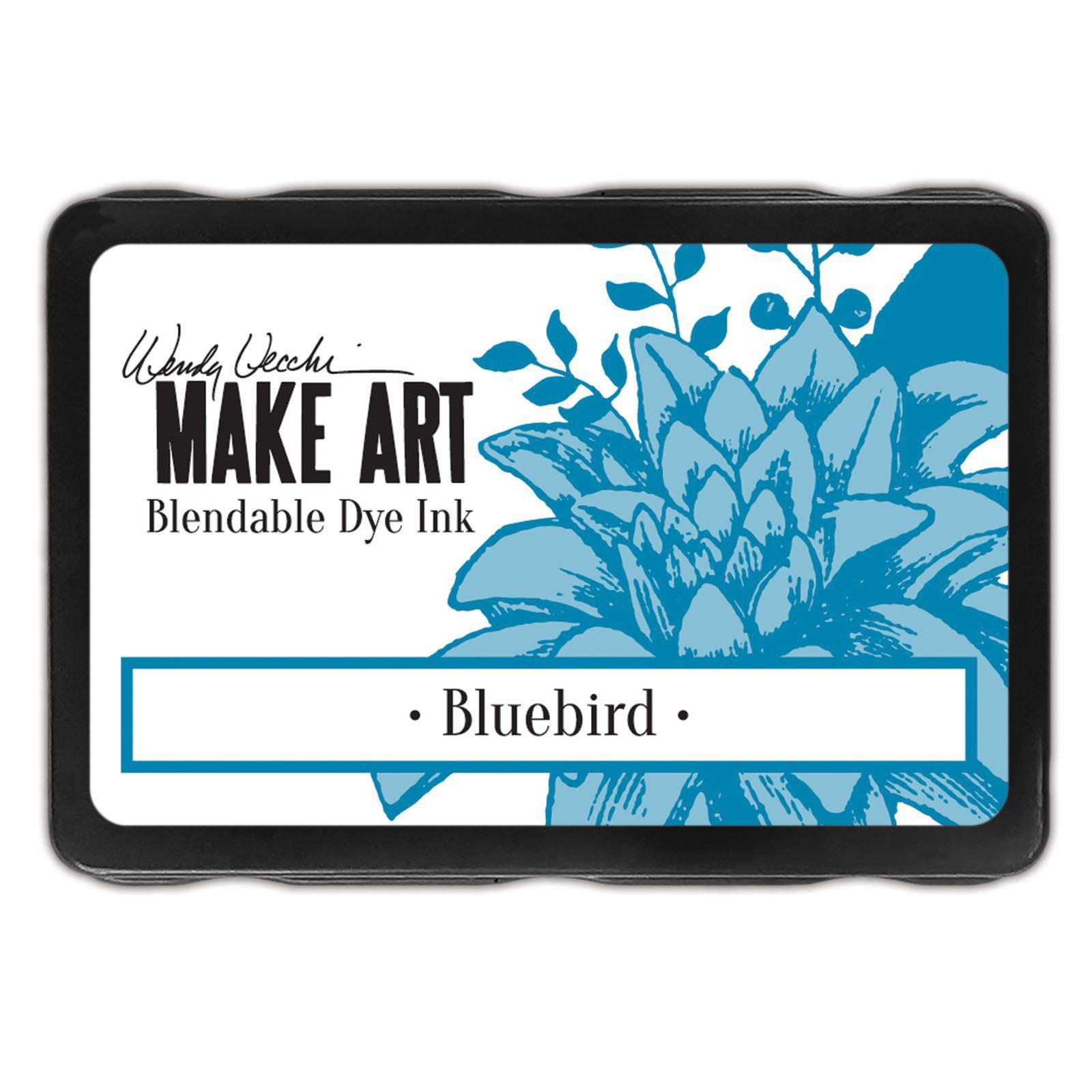 Dye Ink Pad Bluebird