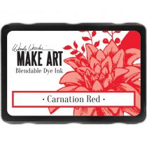 Dye Ink Pad Carnation Red
