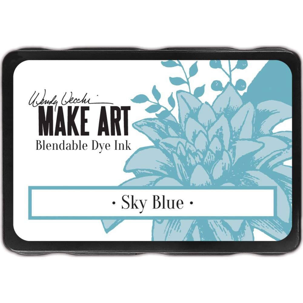 Dye Ink Pad Sky Blue