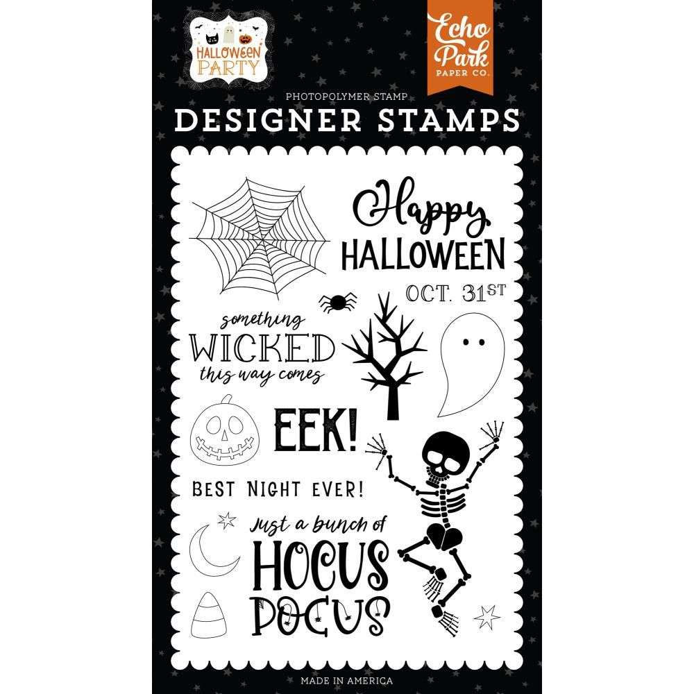Echo Park Stamp Something Wicked