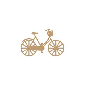 EMBELLISSEMENT BOIS BICYCLETTE