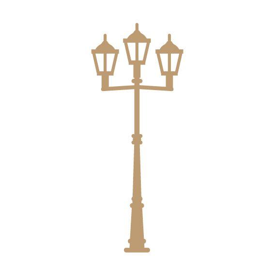 EMBELLISSEMENT BOIS LAMPADAIRE