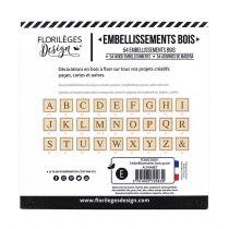 EMBELLISSEMENTS BOIS GRAVE - Alphabet