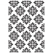 EMBOSSING FOLDER DIAMOND DAMASK