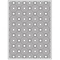EMBOSSING FOLDER OCTOGONE