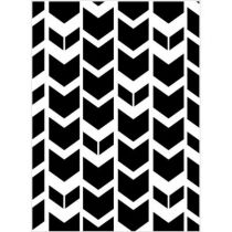 EMBOSSING FOLDER TRIBAL CHEVRON