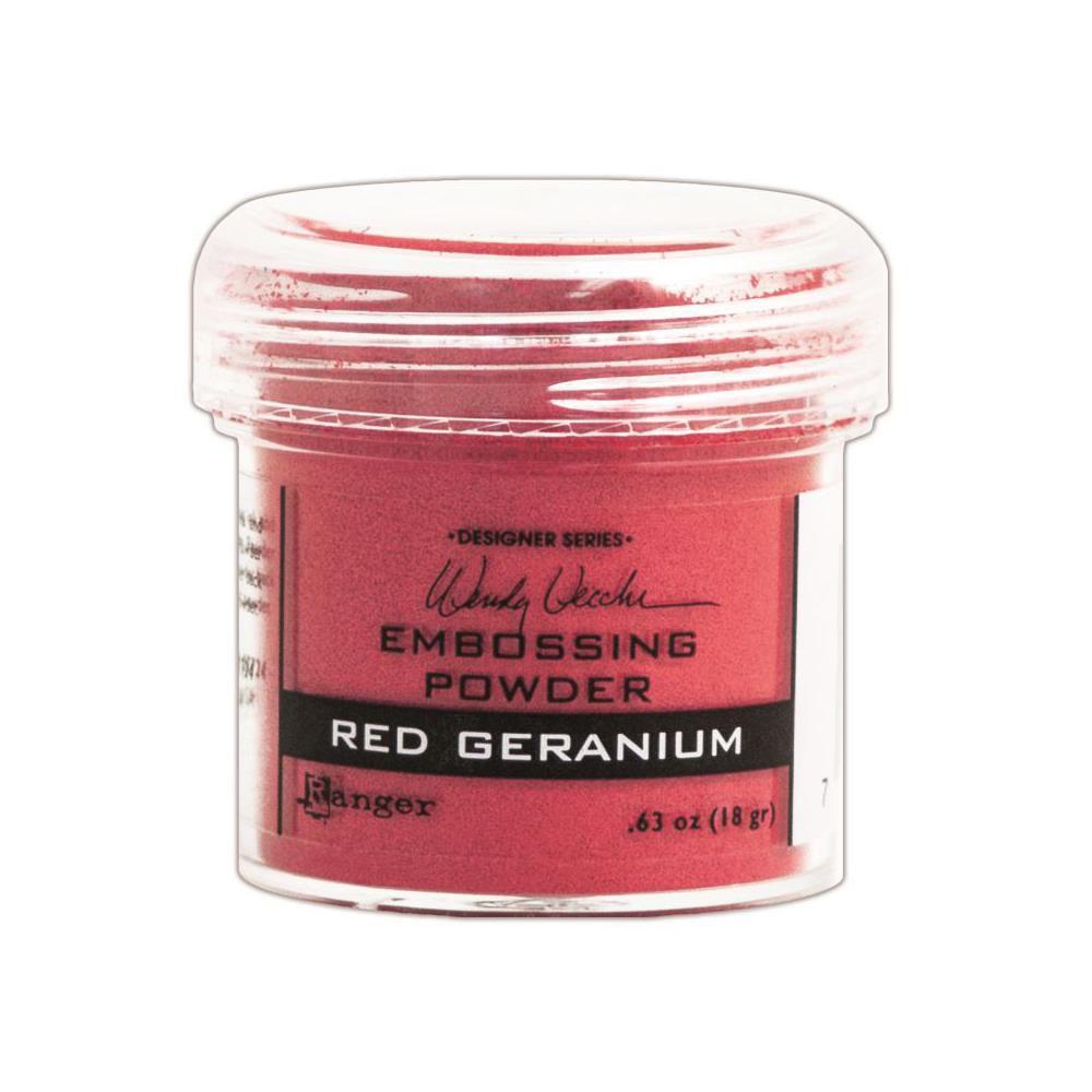 Embossing Powder Wendy Vecchi Red Geranium