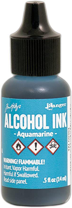Encre à alcool Tim Holtz - aquamarine