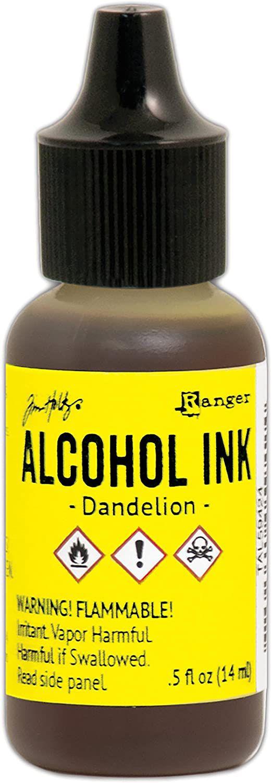 Encre à alcool Tim Holtz - dandelion