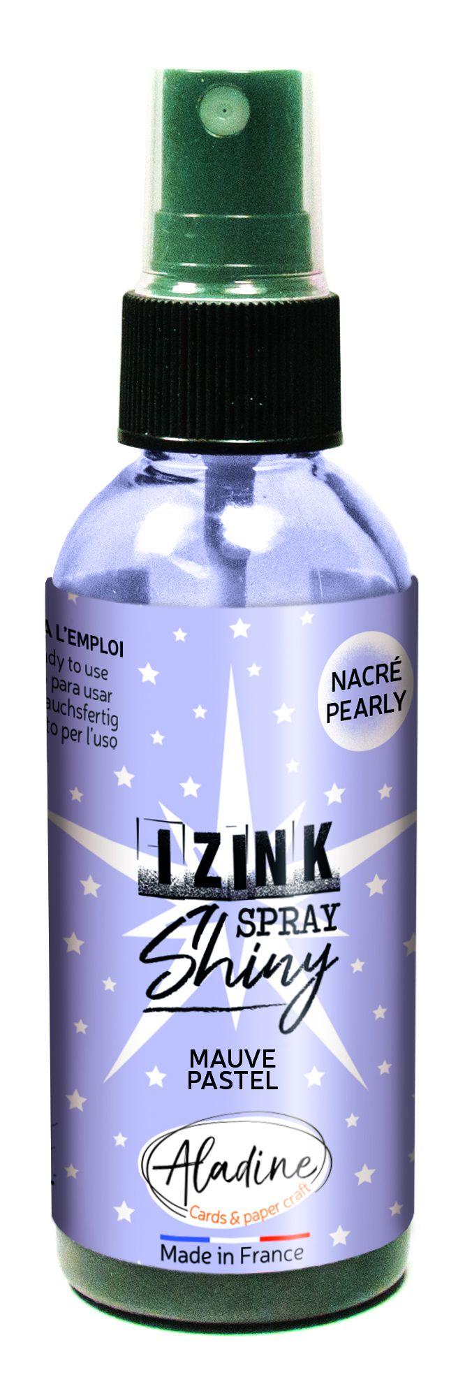 ENCRE IZINK AUX REFLETS NACRES - Mauve Pastel