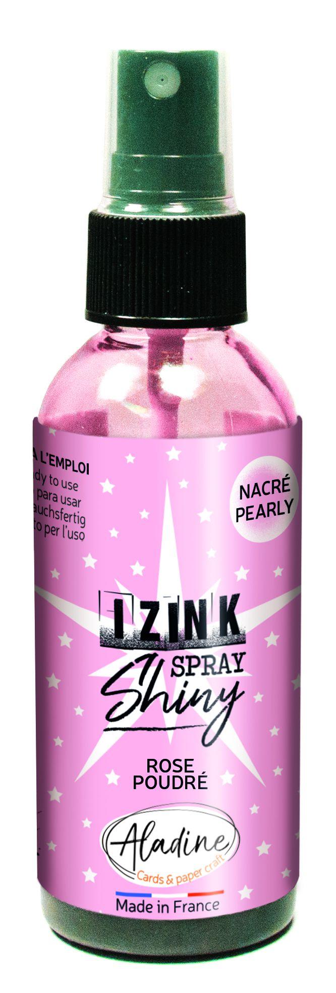 ENCRE IZINK AUX REFLETS NACRES - Rose Poudré