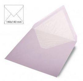 Enveloppe 14x14 cm, 90g, lilas