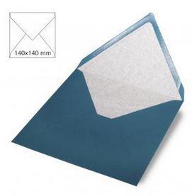 Enveloppe 14x14 cm, 90g, turquoise foncé