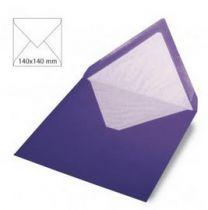 Enveloppe 14x14 cm, 90g, violet