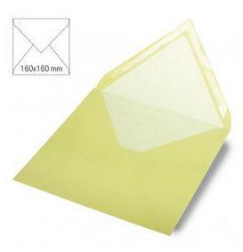 Enveloppe 16x16 cm, 90g, vert pastel