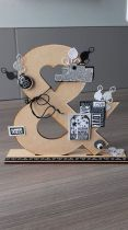 ESPERLUETTE A POSER MDF 3 MM