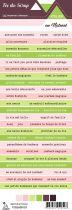 Etiquette atelier Lydie au naturel - bandes de mots
