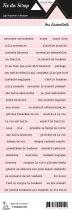 étiquette les essentiels rose pale bandes de mots