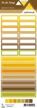 étiquette Un air automnal étiquettes rectangles