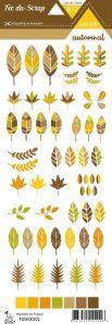 étiquette Un air automnal feuilles