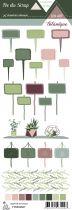 Etiquette un air botanique - Etiquettes Jardin