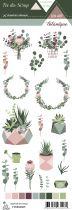 Etiquette un air botanique - Plantes 1