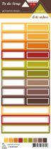 Etiquette un air d\'été indien - Etiquettes rectangles