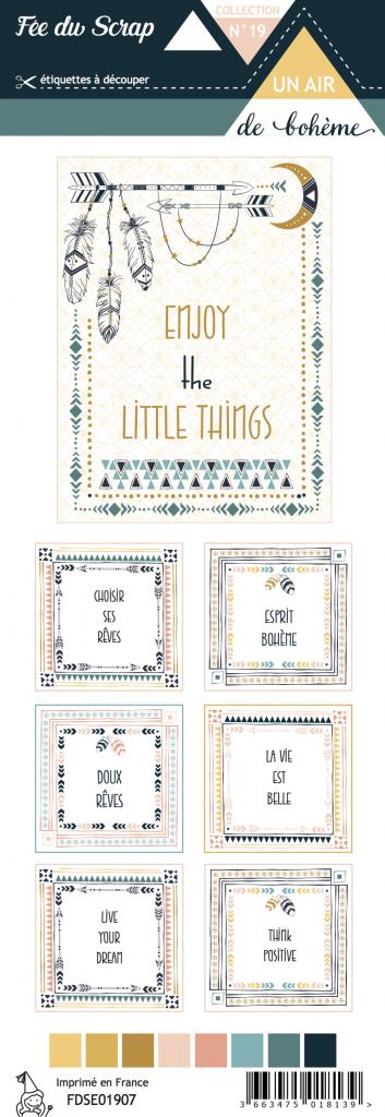 étiquette un air de bohème enjoy the little things